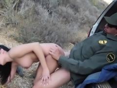Latina babe gets rammed