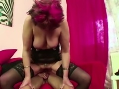 German Mother Fuck 18yr old Step-Son when Dad away