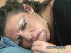 Mature swinger Angelica Lauren gets her pussy fucked free