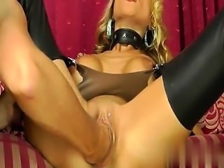Hot blond milf fist fucked in her loose  - My Affair on MILF