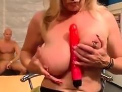 Date her on MILF-MEET.COM - extreme pierced stepmom in her f