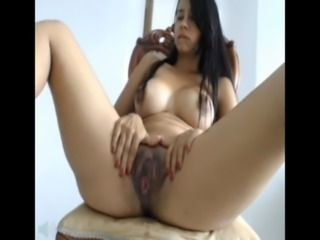 latina masturbating in webcam free