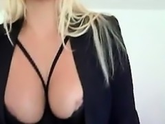 She is from DOM-MATCH.COM - Sexy Secretary Humiliation