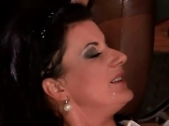 Guy pissing on babes