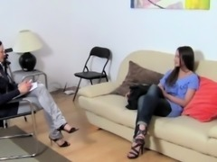 Russian Erotic Model In Porn Casting