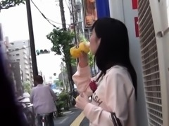 Japanese skank urinating