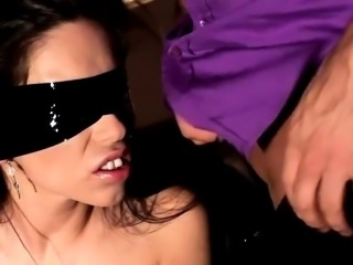 BDSM of lovely model enjoying all fetish things