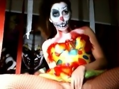 Find her on CHEAT-MEET.COM - Shaye Rivers Halloween Clown Ma