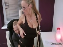 german milf secretary fucking with her boss in the office 720p free