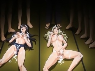 Sport uniform anime coeds gangbang and cumshot allbody