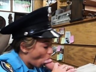 Sexy latin police officer fucked hard by horny pawn man