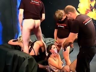 Bukkake slut anal fucked