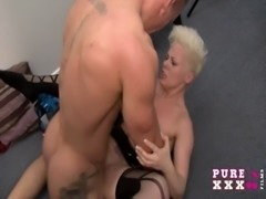 PURE XXX FILMS Banging the Milf neighbour free
