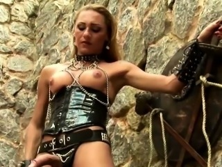 Fetish Tranny Jerking Off Close Up