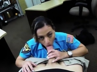 Horny Police fucked in doggystyle