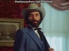 Flower, John Leslie in vintage xxx clip with fantastic sex