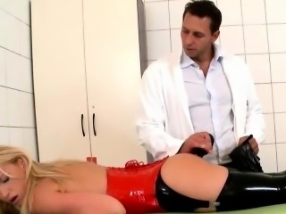 Mr Grey in porn movie showing bdsm fetish fucking
