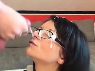 Found her on CHEAT-MEET.COM - Germanys hottest CumFace 2