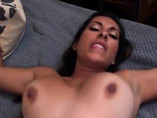 Latina Maid Sofia Agonizing Over The cum Facia