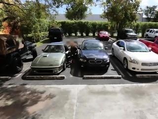 Hot Blonde Bimbo Tries To Hock Her Car