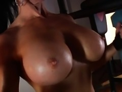 Samantha Kelly Topless Workout