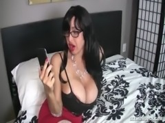 Big-Titted Lady sucks A Young Boner At Home free