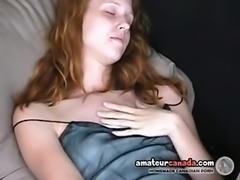 Shy redhead scottish geek upskirt masturbatio