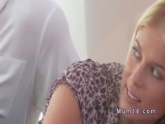 Nice blonde Milf banged till jizz in bedroom free