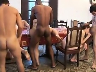 Contact me on CHEAT-MEET.COM - Spanish wild nasty sex party
