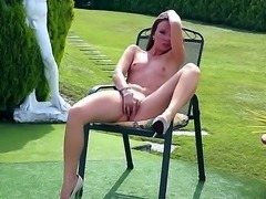 Allison is one awesome solo girl and shes got a big dildo with her here. This...