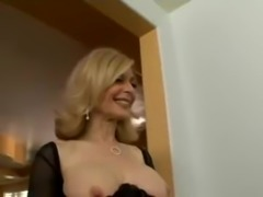 Nina Hartley ready for a young cock free