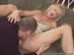 Hotwife Swinger Makes Hubby Happy free