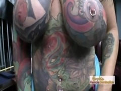 Exotic Tattooed MILF Having Hardcore Sex free