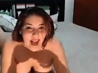 Busty Cutie Loves Sucking Some Dick