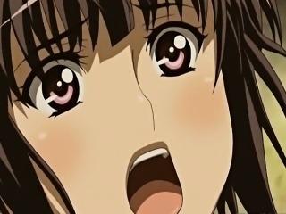 Busty Japanese hentai hot wet pussy fucking