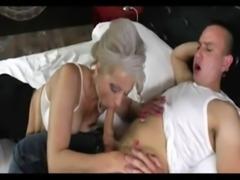 Silver hair mature fucks young boy free