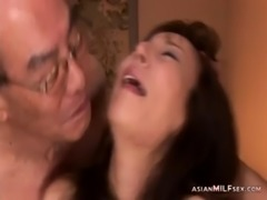 Milf Dominated By Old Husband And Friends Licked Nipples Sucked Mouth Fucked...