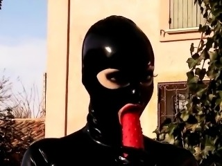 Latex and stunnigly fetish bdsm fucking