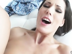 Skinny girl Alexa Tomas takes a cock