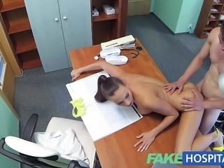 """Randy doctor fucks sexy nurse"""