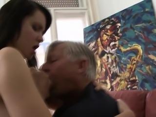 Babe rides and sucks cock