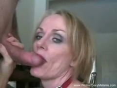 Amateur MILF Sloppy Blowjob free