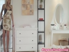 Tattooed stepmom ffm fun with curious teens free