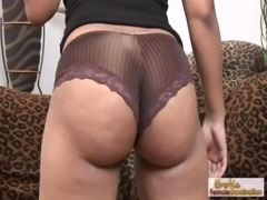 Black MILF with a big ass rides black dick free