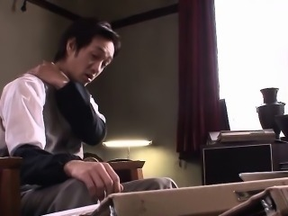 Nana Kunimi is ready to please her handsome co-worker. He\'s