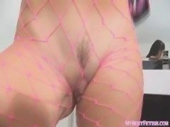 BIG TITS MILF FISHNET ASS WORSHIP- MyBestFetish.com free