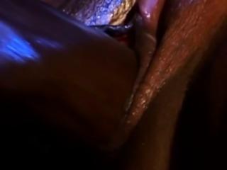 African cutie gets her cunt destroyed