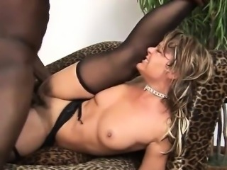 Granny gets a hard fuck in her ass