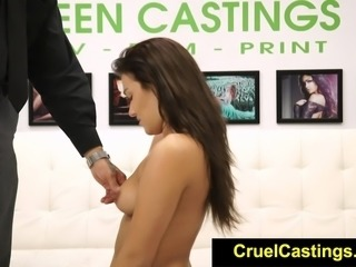 FetishNetwork Desirae Rose bdsm face fucked