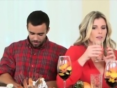 MILF mom Cory Chase has stud to fuck for thanksgivning